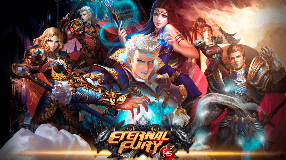 Eternal Fury - игра в стиле аниме!